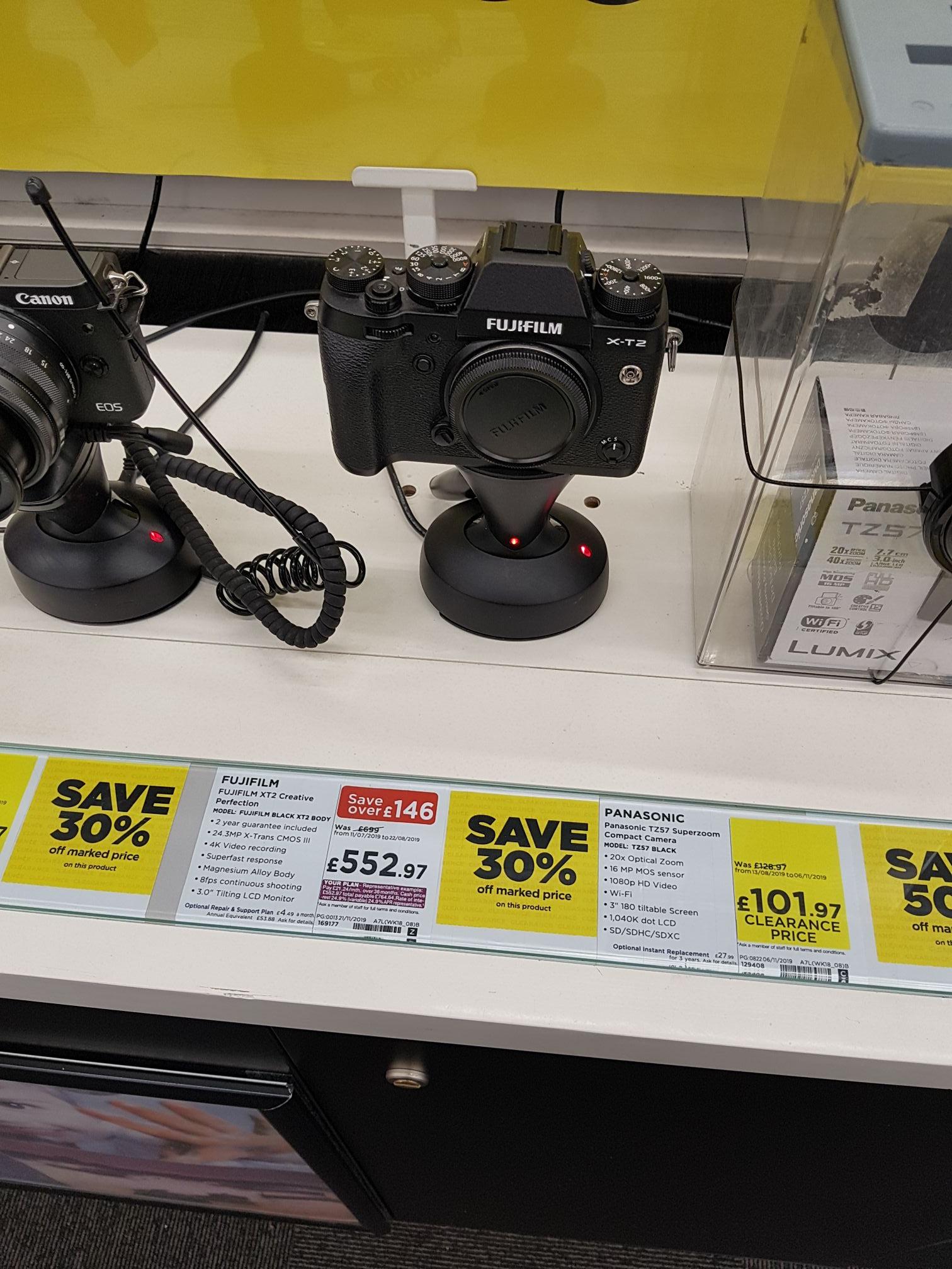 FUJIFILM XT-2 Camera £552.97 @ Currys PC WorldFosse Park, Leicester