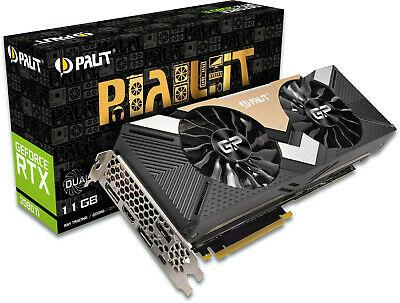 Palit GeForce RTX 2080 Ti Dual Graphics Card, 11GB GDDR6, HDMI, DP, USB-C £849.95 Delivered @ cubscomputerwarehouse/eBay