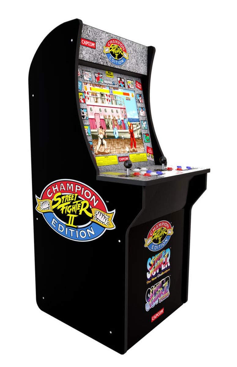 Arcade1UP Street Fighter II Arcade Machine - £225 @ Amazon