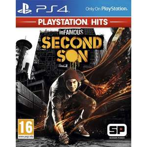 InFamous Second Son (PS4) - PlayStation Hits for £8.95 Delivered @ The Game Collection