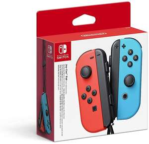 Nintendo Switch Joy-Con Controller Pair - Neon Red / Neon Blue £54.95 @ The Game Collection