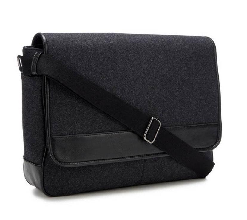 1778 - Grey Despatch Messenger Bag with Wool £15 @ Debenhams