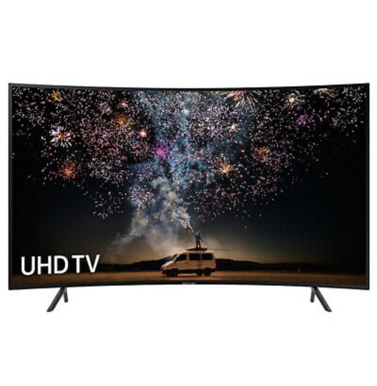 "Samsung UE55RU7300 55"" Curved HDR Smart 4K Ultra HD TV - £374 Delivered with code @ Crampton&Moore/eBay"