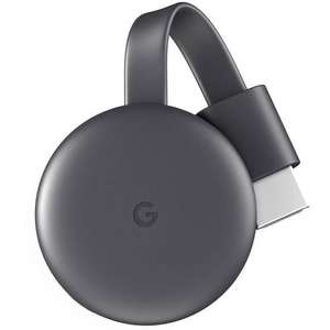 Google Chromecast 3rd Generation - Charcoal - Free Delivery - £24.99 @ My Memory