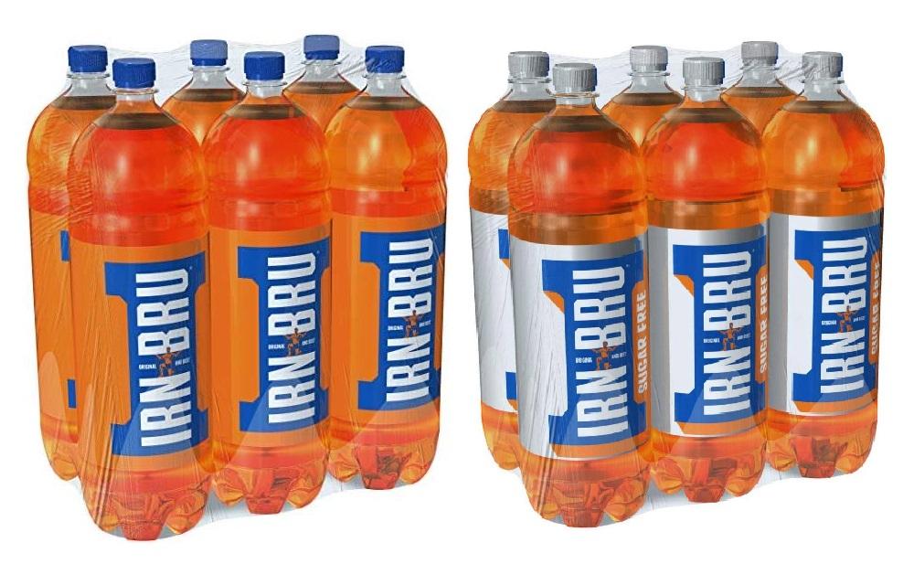 2 Litre Irn Bru was £1 now 25p Regular & Sugar Free Same Price - Instore @ Poundland (Glasgow)