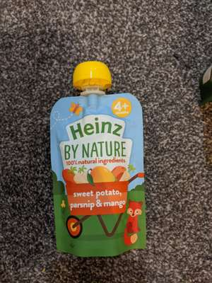 Heinz baby food pouches 39p at Poundstretcher Oldbury