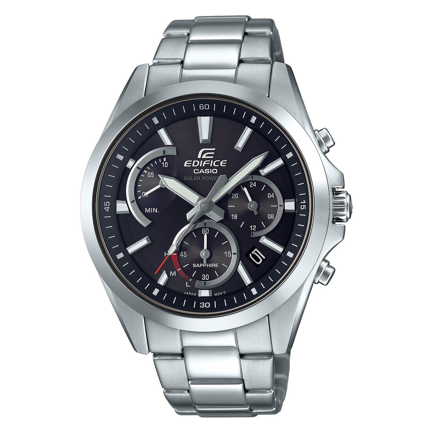 Casio Edifice Stainless Steel Bracelet Sapphire Solar Powered Watch - £80.75 at H.Samuel