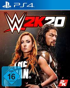PS4 WWE 2K20 Standard Edition - £11.43 delivered @ Amazon Germany