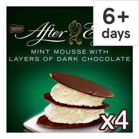 Nestle 4X 57g After Eight Mint Mousse / Aero Creations 4x 57g Hazelnut Mousse £1 @ Tesco