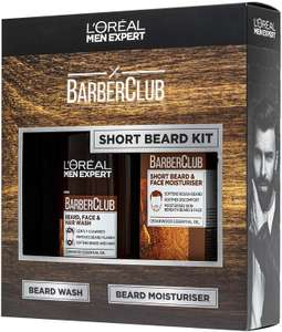 L'Oreal Men's Expert Valentines Gift for Him Short Hair Barberclub Collection 2-Piece Gift Set £4.99 (Prime) £9.48 (Non-Prime) @ Amazon