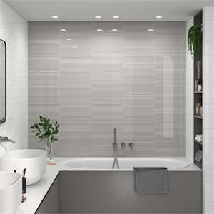 Pack of 15 Manhattan Linea White Wall Tile-25x40 now £14.40 + free Click and Collect at Homebase