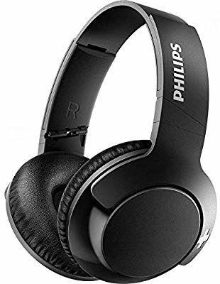 Philips SHB-3175BK / 00 BASS + Wireless Headphones, black - £31.12 delivered @ Amazon ES