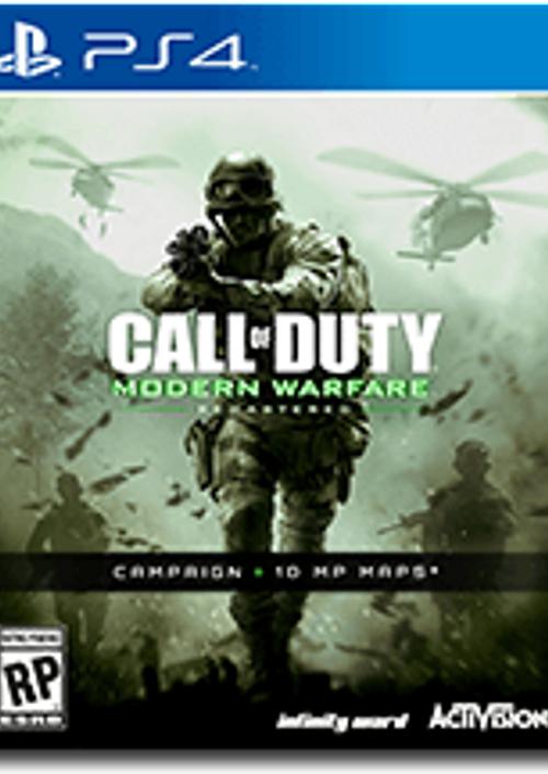 Call of Duty (COD) Modern Warfare Remastered PS4 - Digital Code (US Region) £6.99 at CD Keys