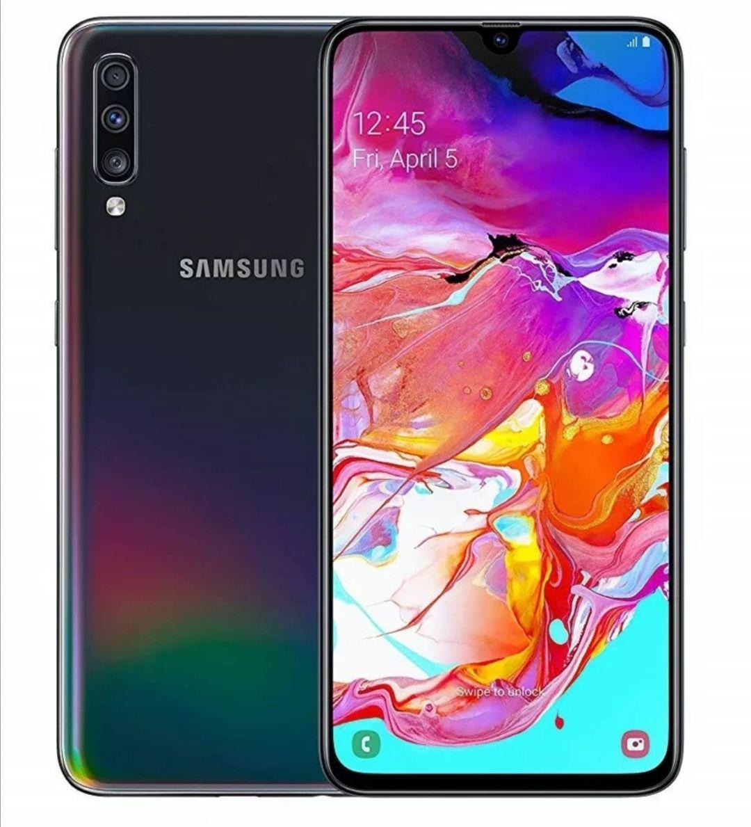 """Samsung Galaxy A70 6.7"""" Smartphone 6GB RAM SIM-Free 128GB Dual-SIM *Black* B Refurb £186.98 @ Cheapest_Electrical Ebay"""