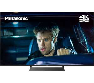 "Panasonic TX-58GX820B (2019) LED HDR 4K Ultra HD Smart TV, 58"" with Freeview Play, Free 5 Year Guarantee - £699 using code @ Currys PC World"