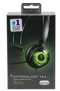 Afterglow Mono Communicator Xbox 360 Headset for £3.49 // 4Gamers PRO4-MONO Chat PS4 £8.99 Free Click and Collect @ Argos