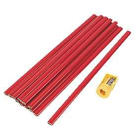 300MM Carpenters Pencils HB 12 pack - £2.49 + free Click and Collect @ Screwfix