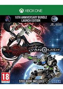 Bayonetta & Vanquish 10th Anniversary Bundle (Xbox One) - Steel Book £24.85 delivered at Base