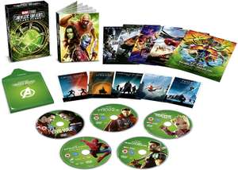 Marvel Cinematic Universe Phase Three Part One (DVD) - £20.99 (Prime) @ Amazon