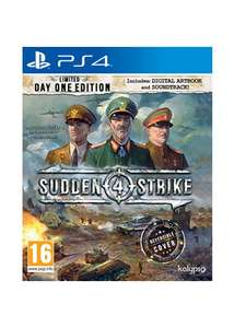 Sudden Strike 4 - Limited Day One Edition (PS4) £7.85 Delivered @ Base