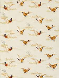 John Lewis & Partners Country Ducks Furnishing Fabric, Natural £6 per metre + £3.50 Delivery at John Lewis & Partners