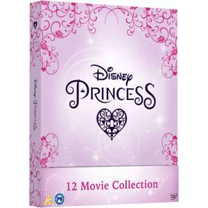 Disney Princess Complete Collection DVD Box set £39.99 free del plus 10% off with newsletter sign up @ Zoom