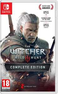 New & sealed Nintendo switch The Witcher 3 - £39.35 @ Music Magpie eBay
