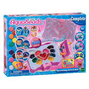 Aquabeads Sparkling Jewel Box Now £10 (Free click and collect or £3.99 delivery) @ The Entertainer