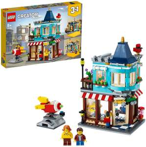 LEGO 31105 Creator 3-in-1 Townhouse Toy Store, Cake Shop, Florist £31.99 delivered at Amazon