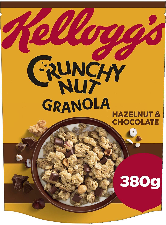Kellogg's Crunchy Nut Granola Hazelnut & Chocolate 380g - £1.50 @ Iceland