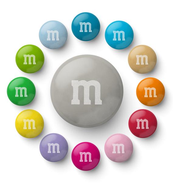 20% off Favors & Bulk M&M's with voucher code @ My M&M's