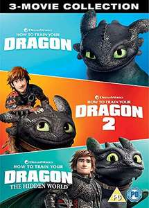 How to Train Your Dragon - 3 Movie Collection Blu-ray £14.99 @ Amazon
