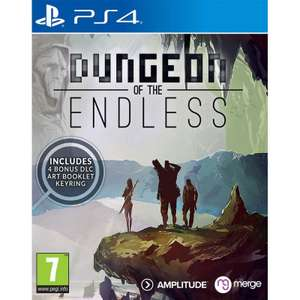 DUNGEON OF THE ENDLESS PS4 pre-order £20.95 PS4 (£25.95 Switch) delivered at The Game Collection