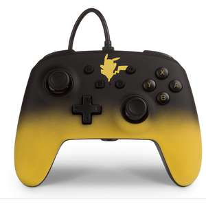 Enhanced Wired Controller For Nintendo Switch - Pikachu Fade £14.99 @ GAME