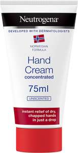 75ml Neutrogena Norwegian Formula Hand Cream Concentrated Unscented/Scented £2.50 at Amazon (+£4.49 non prime)