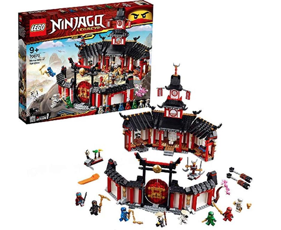 Lego Ninjago monastery £56.49 @ Amazon