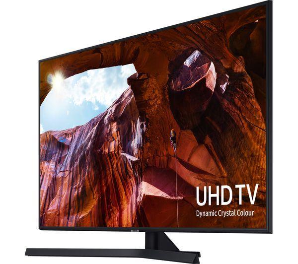 "SAMSUNGUE55RU7400UXXU 55"" Smart 4K Ultra HD HDR LED TV with Bixby £499 @ Currys PC World"