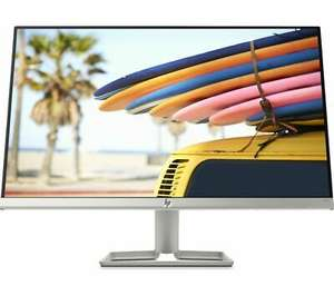 "DAMAGED BOX- HP 24fw FHD 24"" IPS Freesync 75Hz LCD Monitor - White - Currys £78.48 at Currys/ebay with code"