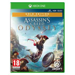 Assassin's Creed Odyssey Gold Edition Xbox One Game [Used - Like New] -£13.12/limited Edition £11.28 @ 365games
