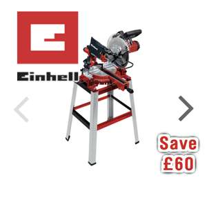 Einhell TC SM2531/1U 254mm Sliding Cross Cut Mitre Saw with Stand 230V £129.98 @ Toolstation