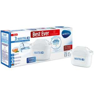 Brita Maxtra+ Water Filter Cartridges 3 Pack - £11.49 + Free Click & Collect instore @ Robert Dyas