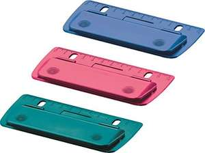 Herlitz 50015832 Mini Pocket Hole Punch and Travel Selection - Assorted Colours £3.93 @ Amazon (+£4.49 Non-prime)