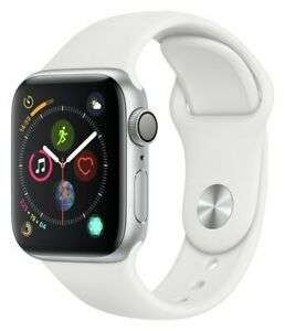 Apple Watch S4 16GB GPS 40mm Smart Watch - Silver Aluminum / White Band - Used 'Grade A' £235.99 @ Argos / eBay