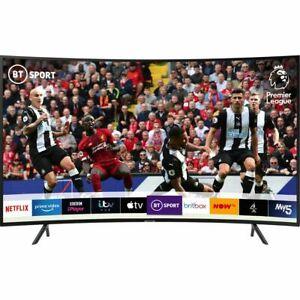 Samsung UE55RU7300 RU7300 55 Inch TV Curved Smart 4K Ultra HD LED Freeview HD £407.55 @ AO / eBay