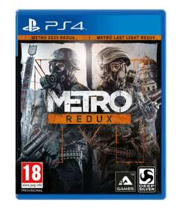 Metro Redux - PS4. Now only £13.95 delivered at Coolshop