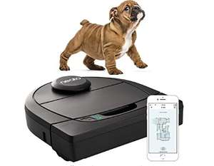 eato Robotics D450, Cleaner Pack, Corner Cleaning Robot Vacuum with D-Shape £299 at Amazon