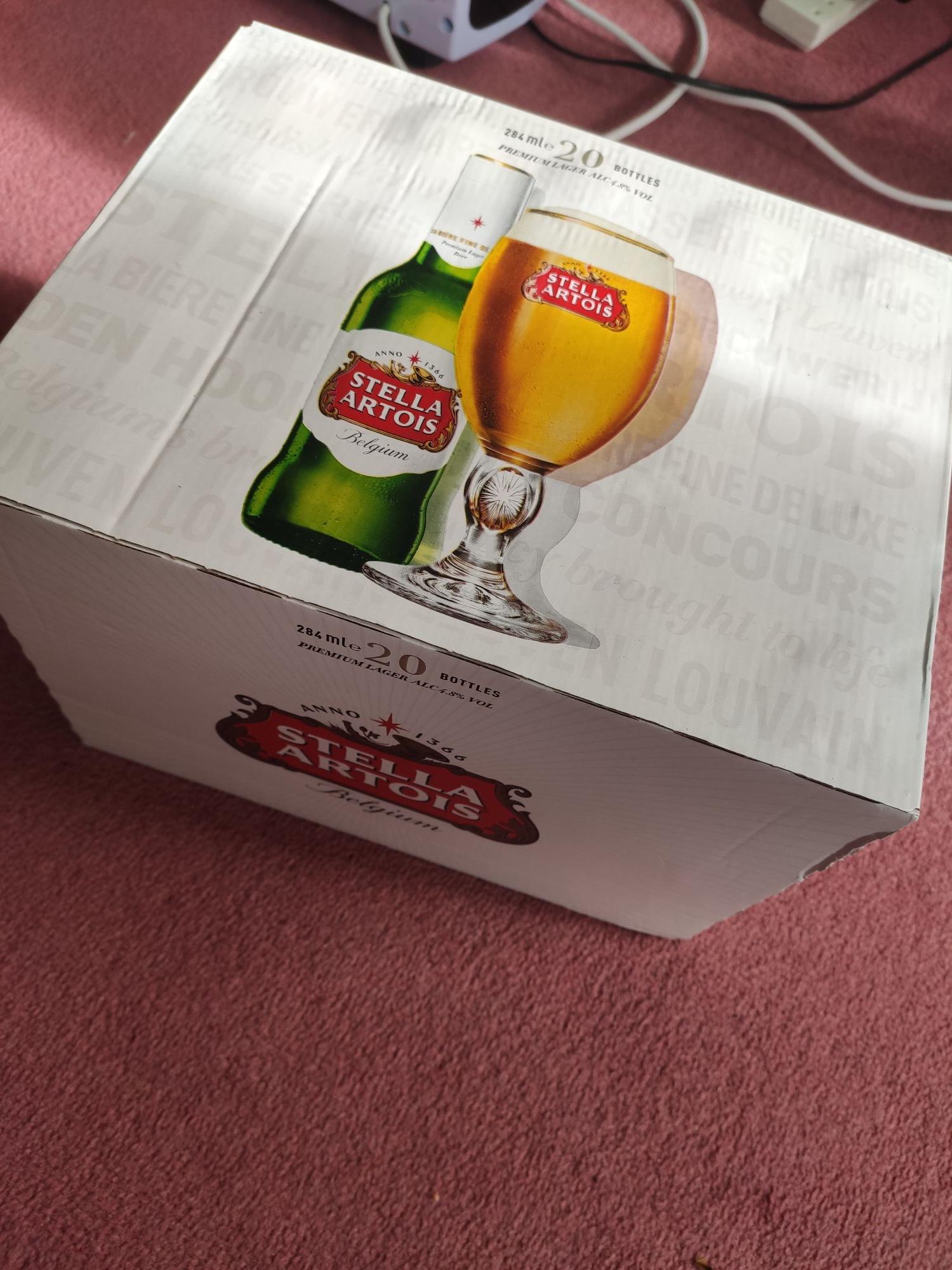 Stella Artois 20x284ml £9.99 at Lidl Acton, London