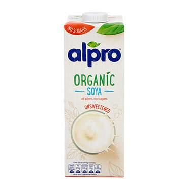 Alpro organic soya milk 69p @ Holland & Barrett (free click & collect)