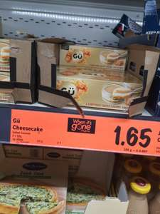 Gü Limited Edition Salted Caramel Cheesecakes 2x92g £1.65 at Lidl Glasgow Maryhill road