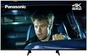 Panasonic TX-58GX700B 58 Inch 4K Ultra HD HDR Smart WiFi LED TV - Black - £426.55 with code @ Argos eBay